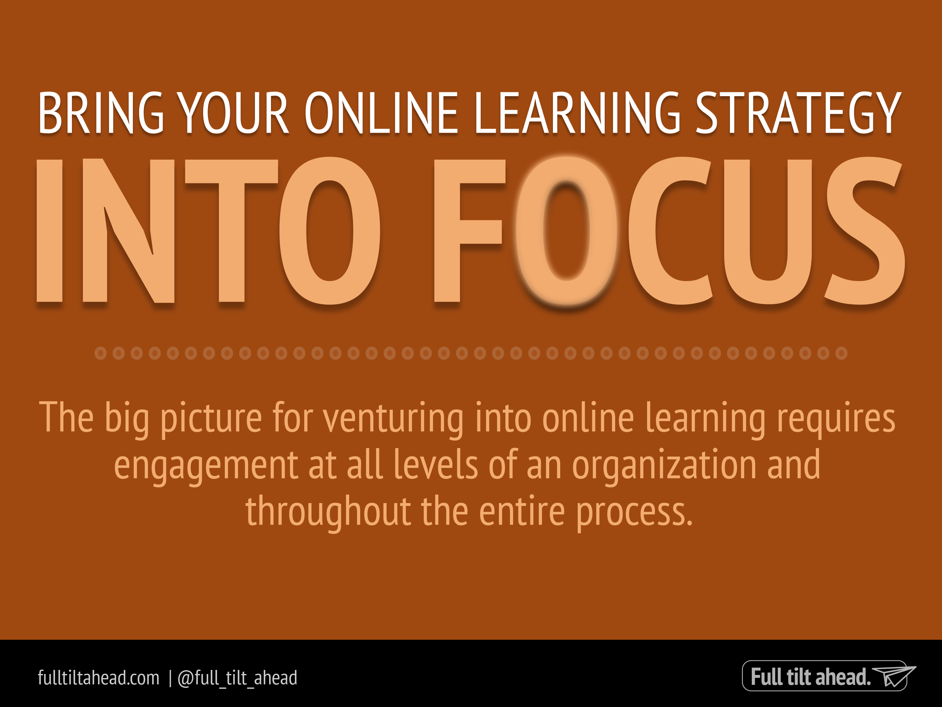 Online Learning Strategy - Atlanta Connected Learning