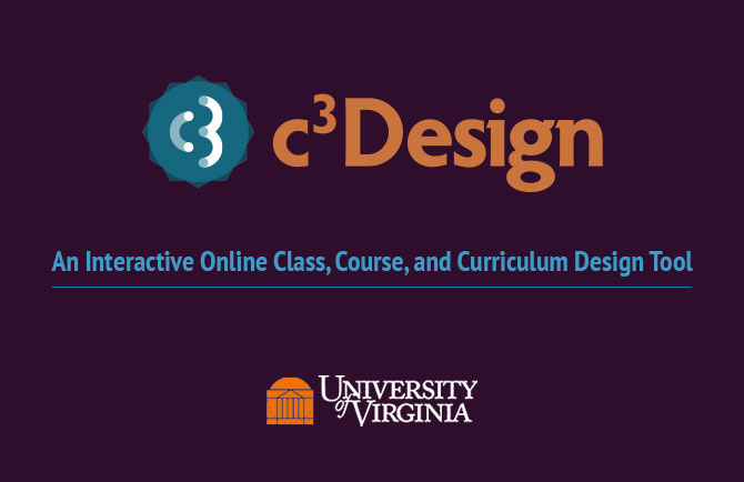 Custom Instructional Design Tool for University of Virginia