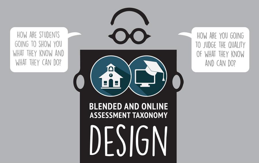 blended and online assessment taxonomy design