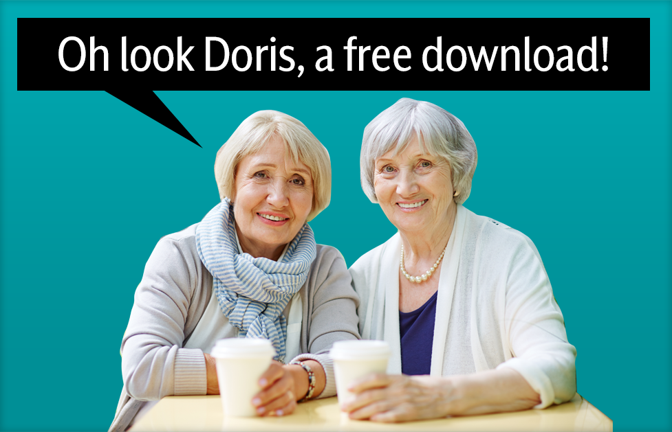 Oh look Doris, a free download!
