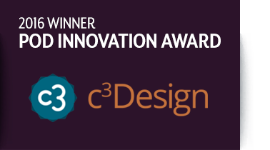 c3Design: 2016 POD Innovation Award Winner