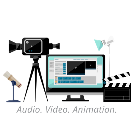 Rich media and interactive media production