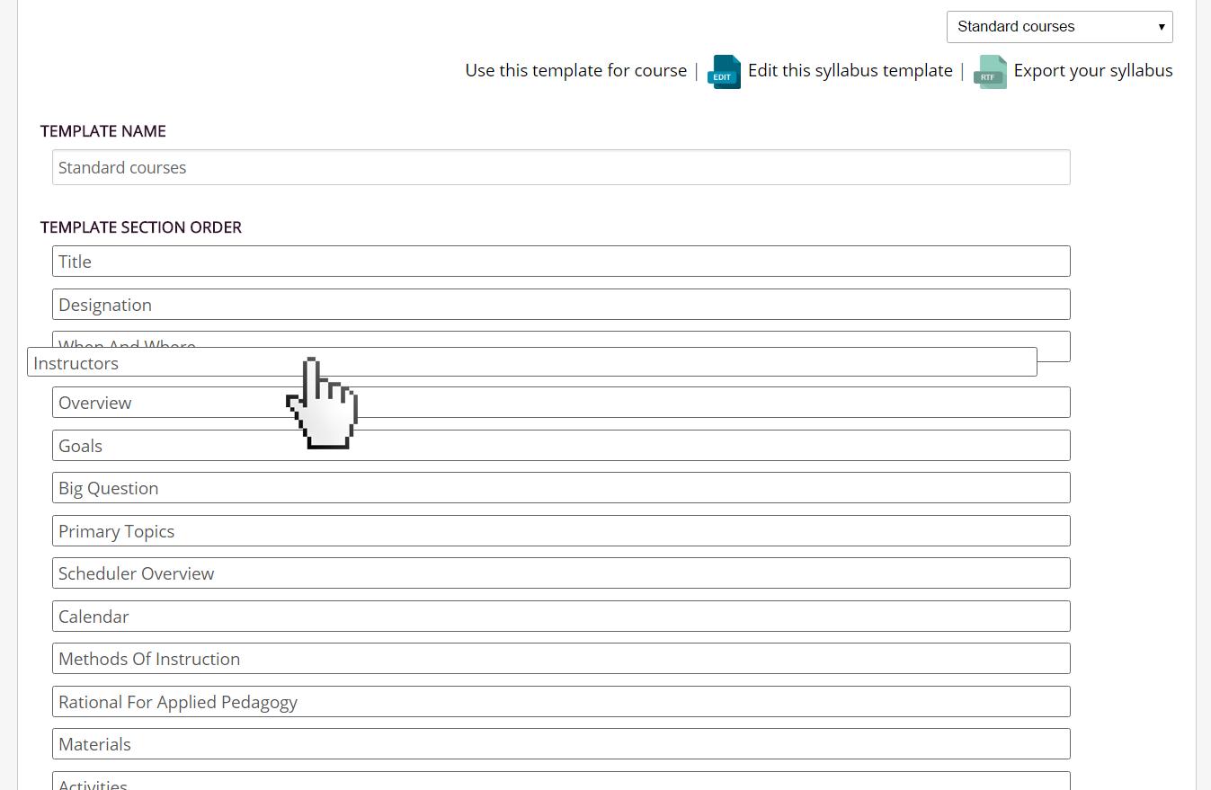 Course Design Tool - Full Tilt Ahead